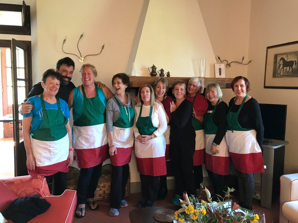 Private chef and Tuscany villa, celebrate  with the Women's Travel Group