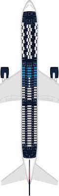airplane seat map